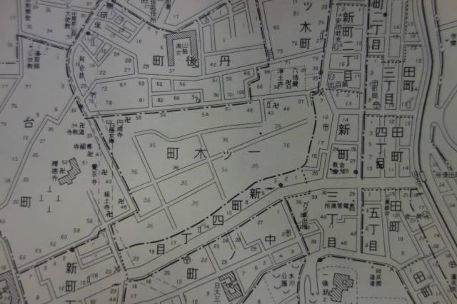 古地図を手に | 日下部正樹ブロ...